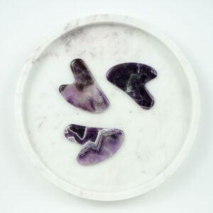 gus sha et différentes pierres améthyste