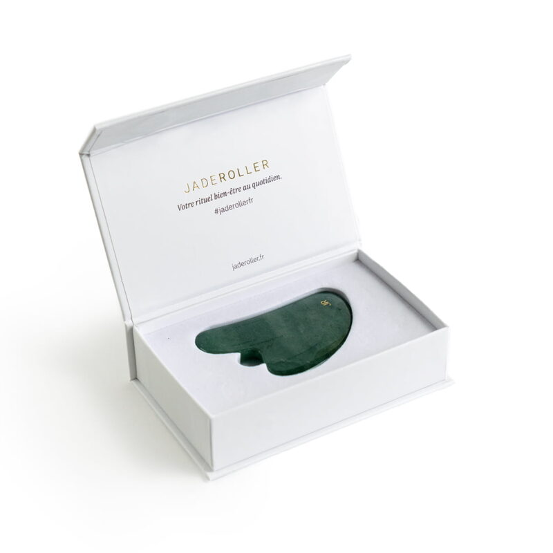 packaging gua sha en jade