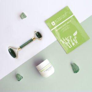 """Mood Jade 2 Rituel Hydratant Repulpant <span class=""""titresec"""">Jade Roller x Erborian</span>"""